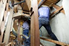 Planung und Ablauf der Restaurierung