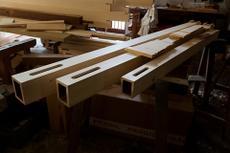 In der Orgelbau-Werkstatt